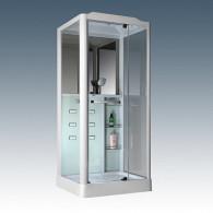Душевая кабина Loranto Selak CS 126 R 90*100*215 см белая