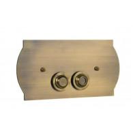 Кнопка слива инсталляций Boheme 651