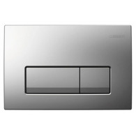 Кнопка слива инсталляций Geberit Delta 51 115.105.46.1 хром матовый