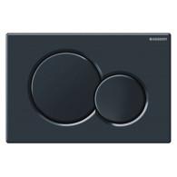 Кнопка слива инсталляций Geberit Sigma 01 115.770.DW.5 черная