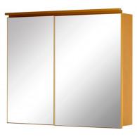 Зеркало-шкаф De Aqua Алюминиум 100 золото AL 506 100
