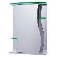 Зеркало-шкаф Vigo Alessandro 3-55 зеленый №11-550-зел