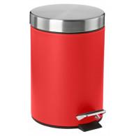 Ведро для мусора Zone ZO 915 63 красный
