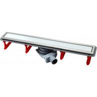 Душевой лоток Pestan Confluo Premium Line 850 белое стекло/сталь