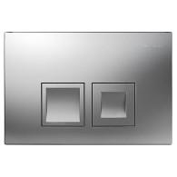 Кнопка слива инсталляций Geberit Delta 50 115.135.46.1 хром матовый