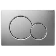 Кнопка смыва GEBERIT 115.770.46.5 Sigma 01 матовый хром