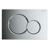 Кнопка слива инсталляций Geberit Sigma 01 115.770.21.5 хром