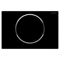 Кнопка слива инсталляций Geberit Sigma 10 115.758.KM.5 черная